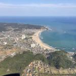御宿の航空写真