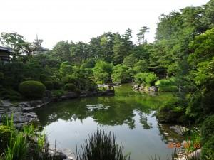 輪王寺の庭園